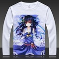 TouHou Project T-shirts Anime Hakurei Reimu Print Long Sleeve T Shirt  FLANDRE Cartoon TopsKirisame Marisa Autumn Tees