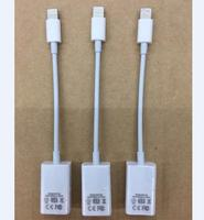 1 SZTUK Oryginalne Światła do Kamery Adapter USB Dock Connector Więcej niż IOS 10.3 USB OTG Kabel do iphone/dla ipad tablet Mini