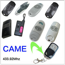 5PCS CAME remote control TOP 432EV TOP-432NA TOP432NA With Battery For Universal Garage Door Gate Key Fob(China)