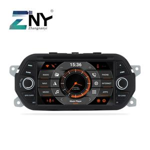 """7"""" Android 9.0 Car Stereo GPS For Fiat Tipo Egea Dodge Neon 2015 2016 2017 2018 Radio DVD WiFi Audio Video Navigation Rear Cam"""