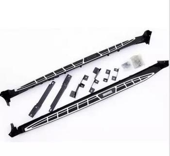 JIOYNG Voor Auto Treeplanken Auto Side Step Bar Pedalen Brand nieuwe Nerf Bars Voor Nissan X-Trail 2014 2015 2016 2017 2018