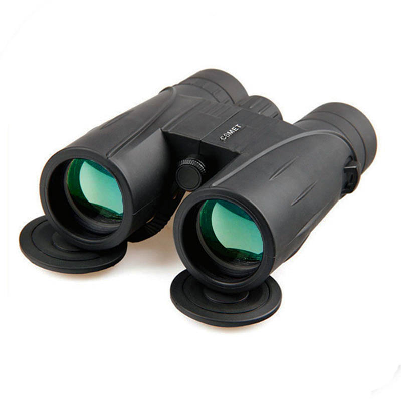 New Military HD 8x42 Binoculars Professional Hunting Telescope Zoom High Quality Vision No Infrared Eyepiece Green Film цена