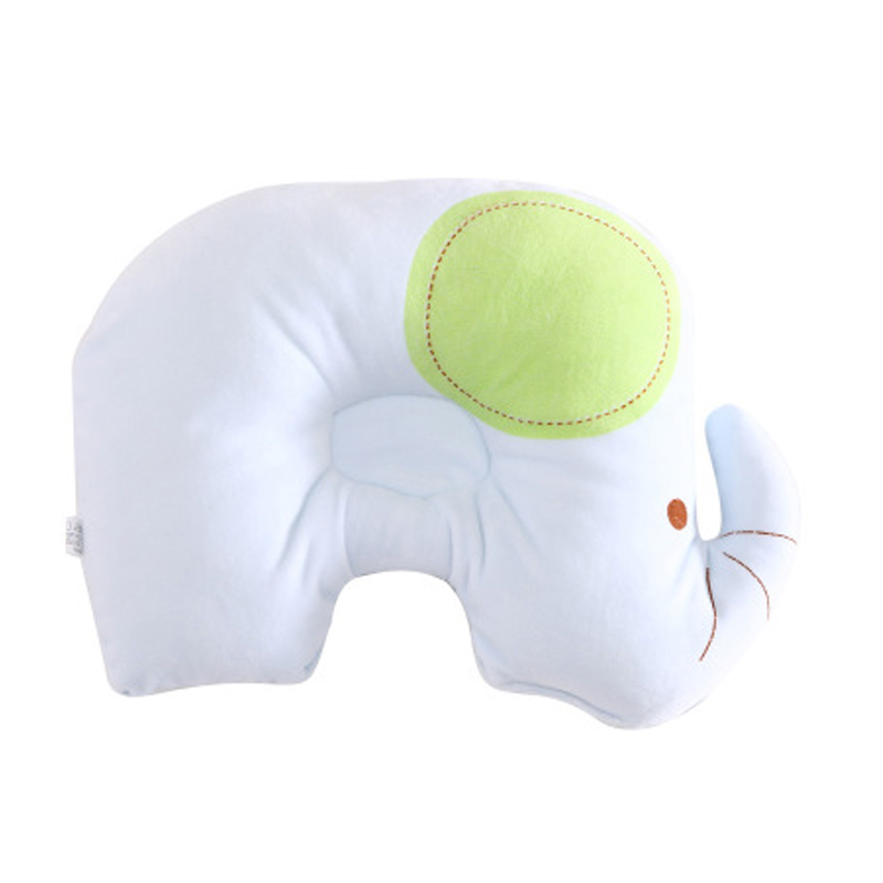 Bedding Neck Support Kids Pillow Head Infant Shaping Baby Nursing Pillow Print Cotton Sleep Positioner Baby Head Protection