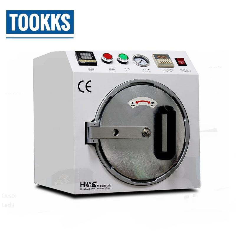 800W 12 inch High Pressure LCD Air Bubble Remove Machine OCA Bubble Remover For iPhone Samsung