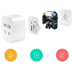 Image 4 - Xiaomi Nhà Thông Minh Mijia Ổ Cắm Thông Minh Wifi Ổ Cắm Không Dây Zigbee Điều Khiển Công Tắc Đèn (Phải Phù Hợp Với Xiaomi Cửa Ngõ sử Dụng)