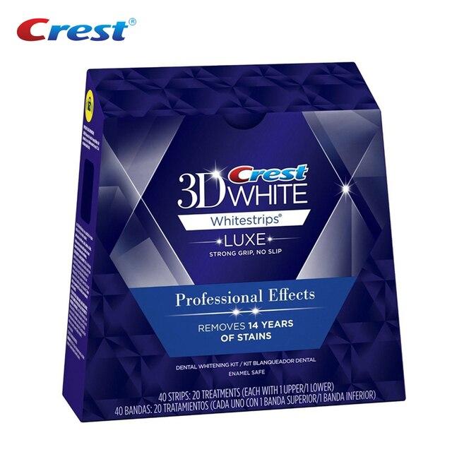 3D blanco tiras de blanqueamiento Dental profesional efectos Whitestrips de higiene Oral Dental Blanqueamiento Dental tiras sonrisa 10/20 bolsas
