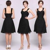 Bridesmaid Dresses Wedding Party Dress Ever Pretty Straple Elegant Black Ruffled A Line Sweetheart Chiffon Bridesmaid
