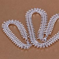 LS042 Big Statement Necklace Bracelet Silver Chunky Chain Jewelry Sets Fashion Brand Men Women Party Jewellery Items Hot Bijoux
