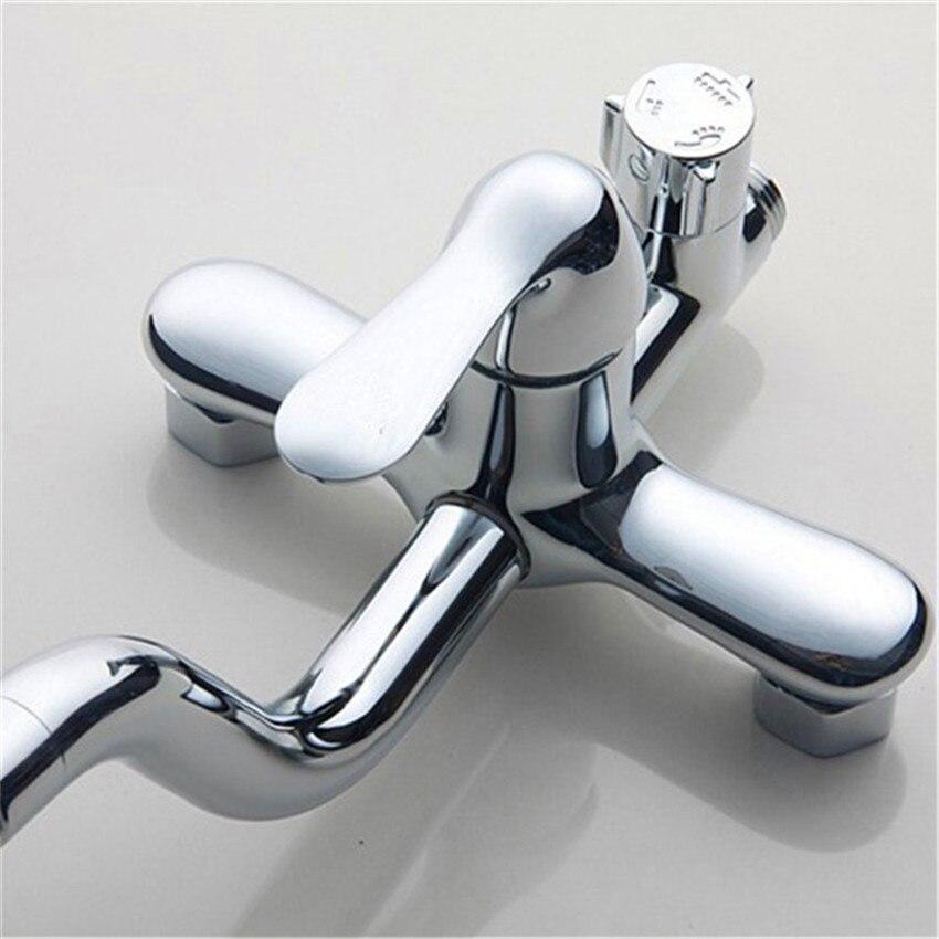 muro del bagno montato doccia rubinetto piattaforma ha montato miscelatore doccia vasca da bagno rubinetti miscelatori