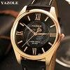 YAZOLE Wristwatch 2017 Wrist Watch Men Top Brand Luxury Famous Male Clock Quartz Watch Hodinky Quartz