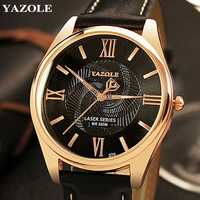 YAZOLE Wristwatch 2017 Wrist Watch Men Top Brand Luxury Famous Male Clock Quartz Watch Hodinky Quartz