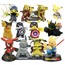 Pikachu Cross Over Figures (Sold Separately)