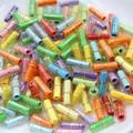 800 pcs/Lot Message in a Bottle Message Cute Capsule Letter Love Pill Full Clear Color Mini Wish Bottle