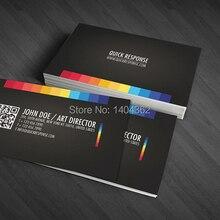 Cartão de visita 300gsm de alta qualidade, cartões de visita feitos sob encomenda que imprimem o cartão de visita