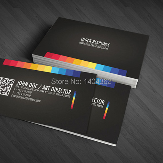 free shipping high grade business card 300gsm name cardcustom business cards printing visit card - Quick Print Business Cards
