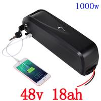 Free Customs Duty Hailong Battery With USB Cell 48V 17 5Ah For Sanyo Li Ion Electric