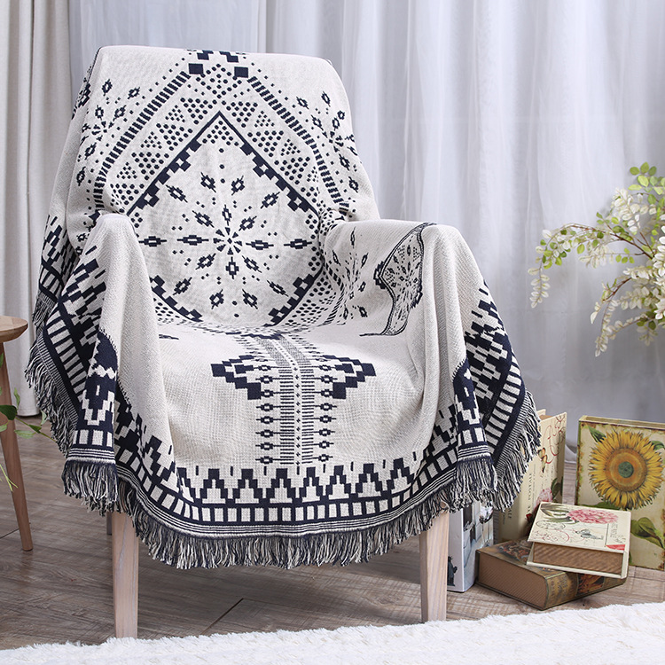 Blue White Plaid Blanket on Bed/Sofa/Plane/Travel Winter Blanket 180x230cm High Quality Throw Blanket Sleeping Bed Hot Sale hot sale summer cool bed plaid rattan sleeping mat for pet dogs