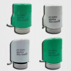 220 В без NC Электрический термопривод клапанная головка для термостата коллектор underfloor отопительный радиатор нормально открытый закрытый