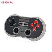 Original 8Bitdo NES30 Pro Wireless Gamepad Bluetooth/USB Connect Controller Dual Classic Joystick for iOS Android PC Mac Linux