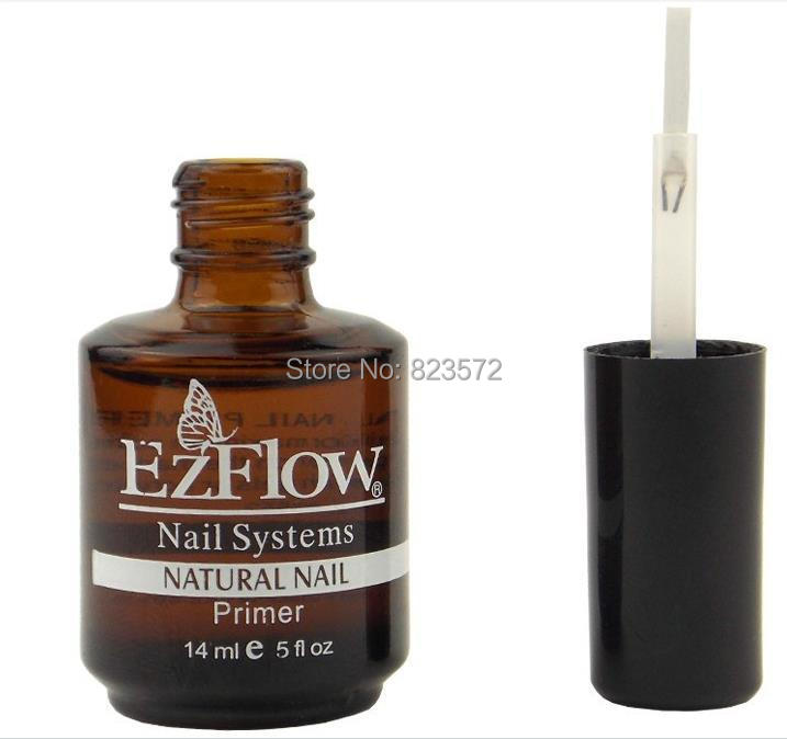 US $11 31 5% OFF|EM 99 New 2Pc 14ML Ezflow Natural Nails Primer Nail Art  Tool Products Acrylic Base Coat For UV GEL & Acrylic Tips-in Sets & Kits  from