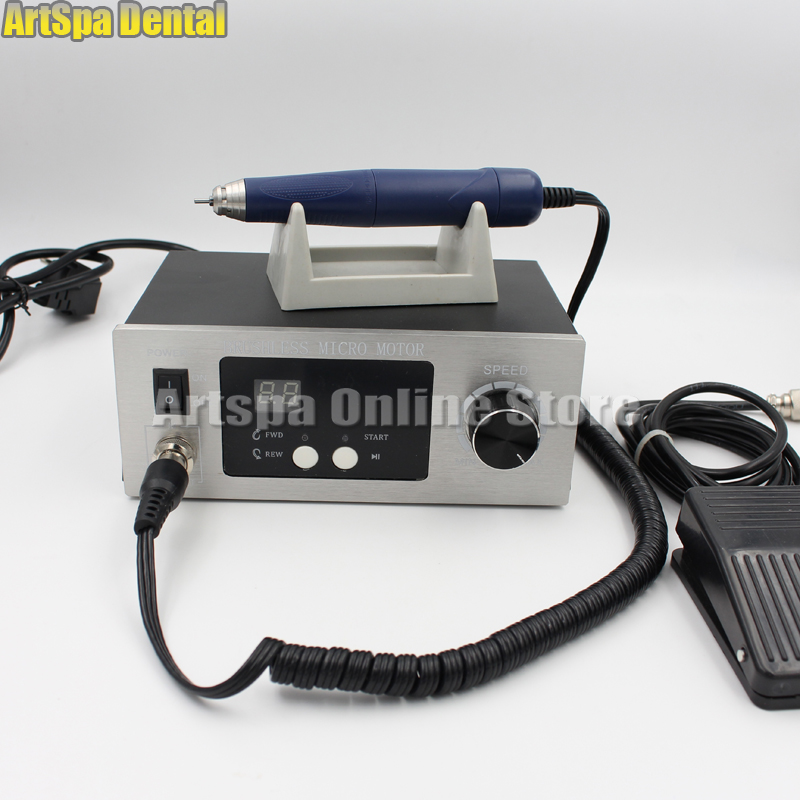 все цены на 70,000 RPM Non-Carbon Brushless laboratory Dental Micromotor Polishing lab handpiece stone/ metal/ jewelry carving Engraving онлайн