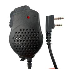 Portable Speaker Mic Dual PTT for Kenwood Baofeng TYT Two Way Radio UV-82 BF-888S UV-5R UV-5RE Walkie Talkie Microphone