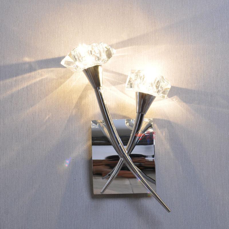 Modern corridor crystal wall  lamp bedside lamp bedroom lamp aisle lighting fixtures Specials ZL284 LU1025 modern lamp trophy wall lamp wall lamp bed lighting bedside wall lamp