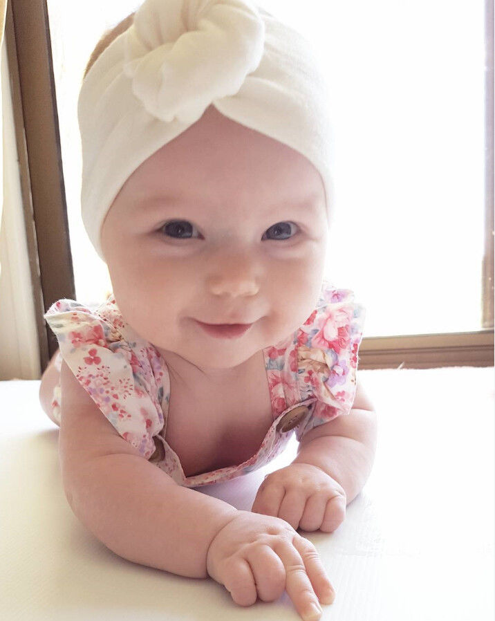 0-24M Infant Baby Girls Newborn Cotton Foral Button Sleeveless Bodysuit Headband Kids Jumpersuit Playsuit Outfit Sunsuit Clothes
