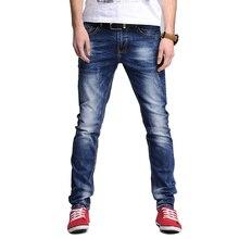 Men Jeans 2016 Autumn New Fashion Youth Jeans Men Pencil Denim Trousers Dlim Men's Pants pantalones Plus Size 28-38