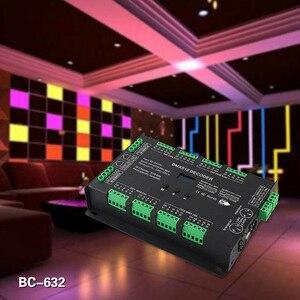 Image 4 - BC 632 DC5V 24V الجهد المستمر 32CH DMX/RDM فك سائق 3A * 32CH الناتج DMX512 rgbw تحكم ل RGB RGBW شرائط ليد مصباح