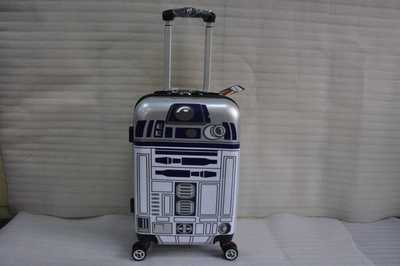Star Wars R2D2 Robot Rolling Luggage Spinner brand Travel Suitcase