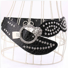 New Women elastic belt Rhinestone Fashion girdle corset elas