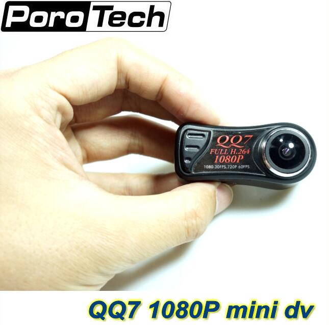 High Quality Smallest Camera dv QQ7 FULL HD 1080P Mini DVR H.264 Mini Camcorder+185 Wide Angle digital cameras кабель dv карта памяти minisd где в калининграде