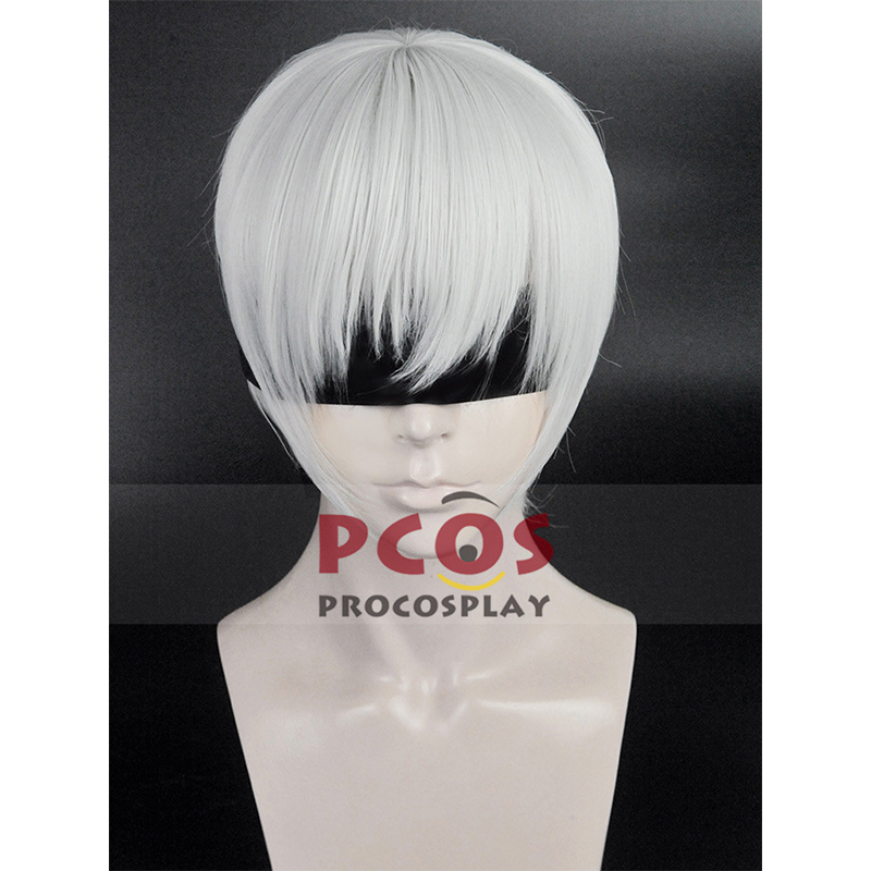 In Stock, Nier : Automata YoRHa 9S Cosplay Blinder & Wig mp003638