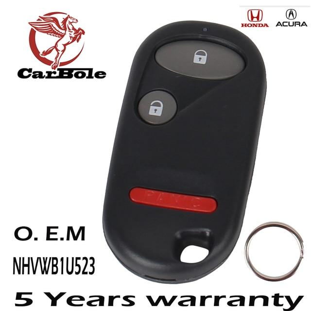 Carbole Keyless Entry Remote Key Fob Clicker Transmitter For Nhvwb1u523 2001 2005 Honda Civic Ker015 Nhvwb1u521
