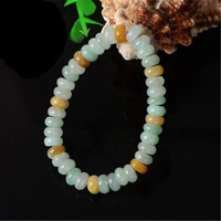 A Grade Natural Jadeite Colourful Beads Bracelet Elastic line Bracelet