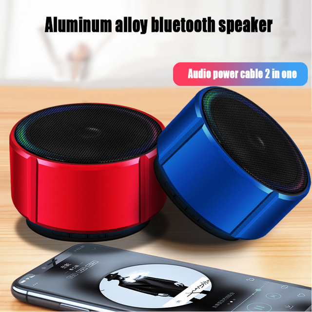 Portable Wireless Bluetooth Speaker With Microphone Radio Music Play Support TF Card Speakers For iPhone Huawei Xiaomi