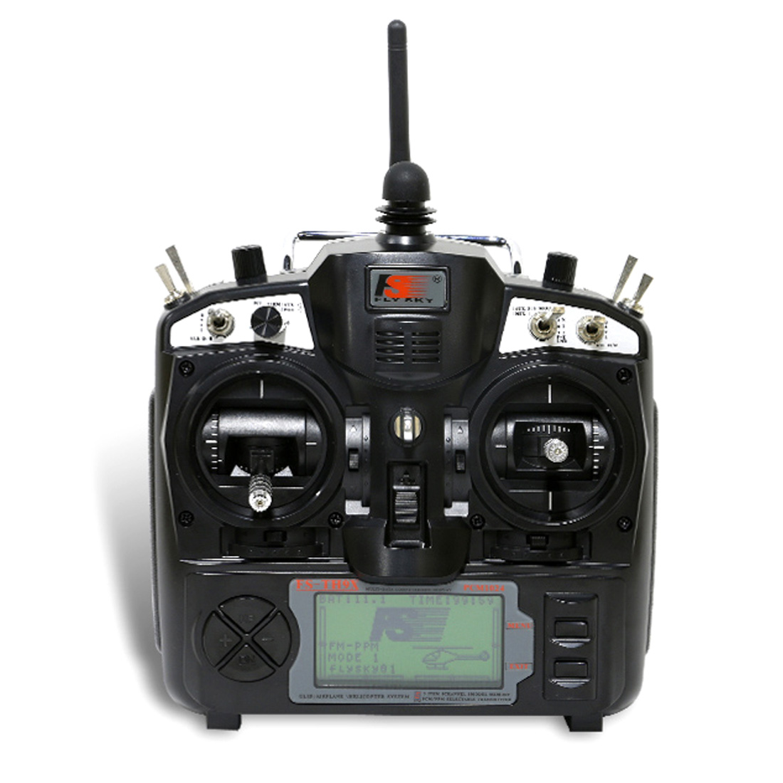 flysky gt2 tx rx combo - Upgraded FlySky FS-TH9X 2.4G 9CH Transmitter With FS-R9B RM002 Receiver Kit Mode 2 For Quadcopter Glider Helicopter Airplane Car