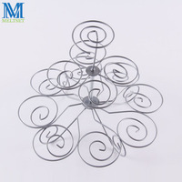 13 Cups European Style Multifunction Christmas Tree Shape Wedding Cupcake Stand Holder Iron 3 Tier Cake