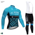 Мужской комплект одежды для велоспорта с длинным рукавом  осень 2019