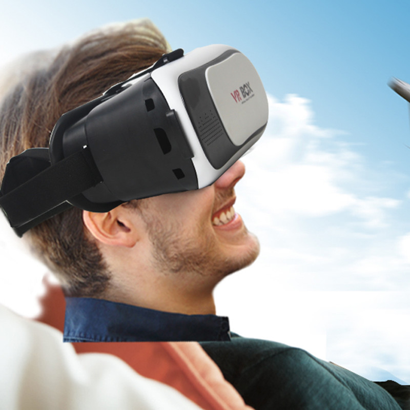 VR BOX 2.0 II Google 3D Glass Glasses VR Glasses Virtual Reality Case Cardboard Headset Helmet For Mobile Phone iPhone 7 6 6s 5 10