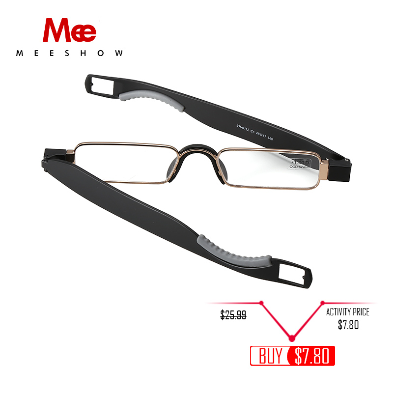 2019 folding Reading Glasses TR90 Resin Lens Men Women Stainless - Apparel Accessories - Photo 2