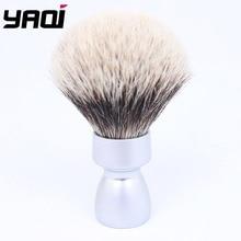 White Handle Black and Tip Shaving Brush