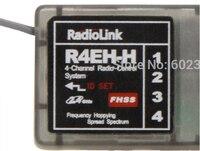 RadioLink R4EH H R4EH G 2.4 ghz Receiver for Radiolink 2.4GHz 4CH RC3S TX rc car boat remote control toys