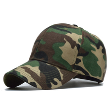 Men Snow Camo Baseball Cap