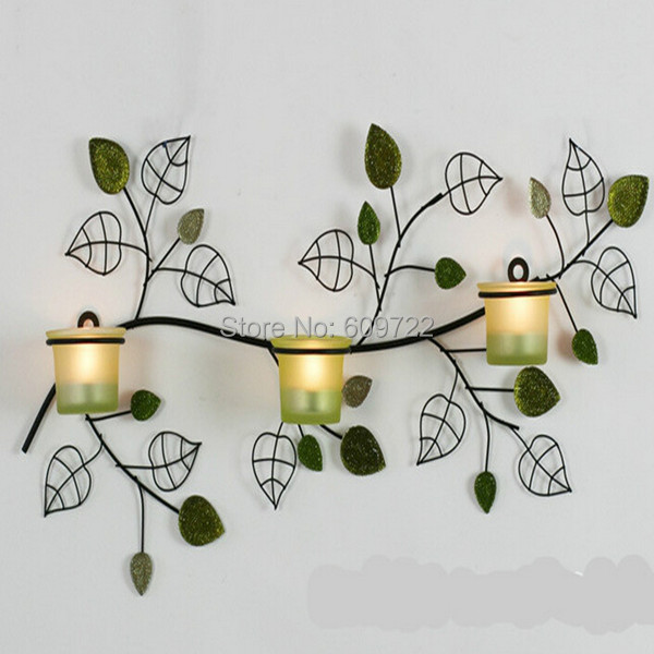 Decorative Wall Candle Holders online get cheap leaf candle holders -aliexpress | alibaba group