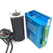 DSP с ЧПУ Шаговые Комплекты ЧПУ NEMA23 3Nm замкнутый контур шаговый привод и Двигатель комплекты DC36V HBS860H + 57HBS30 легко servo