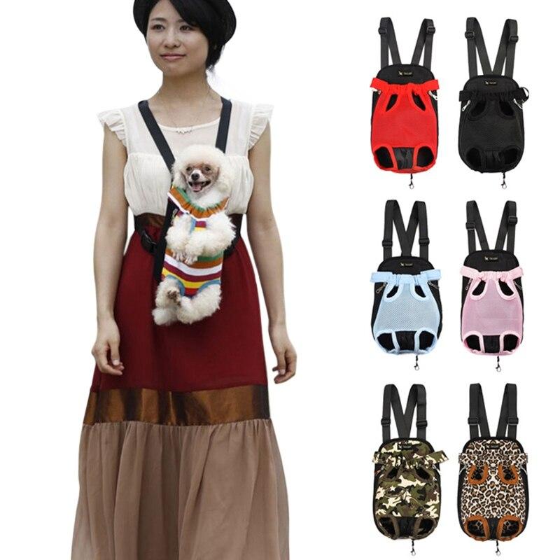 Summer Pet Backpack Carrier Breathable Lightweight Dog Travel Shoulder Bag for Small Dog Cat Puppy Carrier Front Carry Back Pack