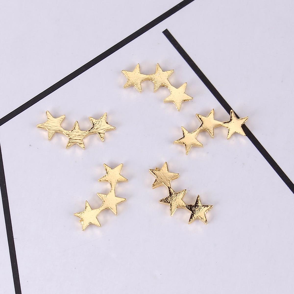 Инструменты для ювелирных изделий из сплава и смолы, на основе цинка, с золотым покрытием, 13 мм (4/8 дюйма) x 6 мм (2/8 дюйма), 10 шт.