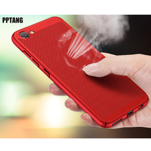 Heat Dissipation Phone Case For Redmi 5 Plus 5A Xiaomi Mix 2 2S Note 3 Cover Cool Matte Hard PC Spraying Hollow phone Bag